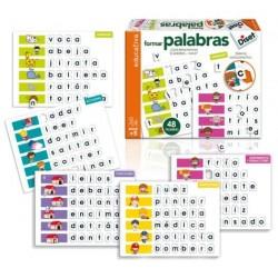 JUEGO FORMAR PALABRAS +5...