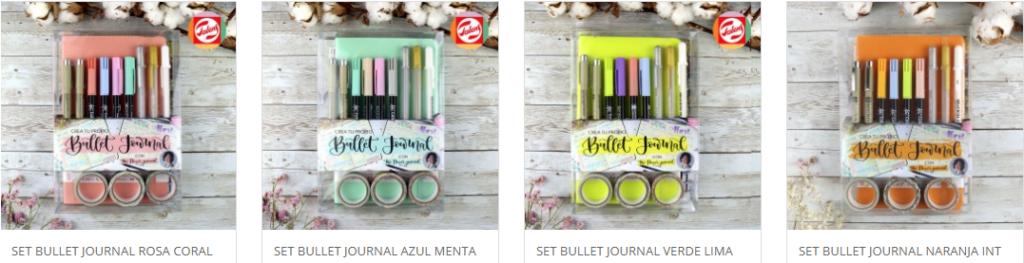 bullet journal packs